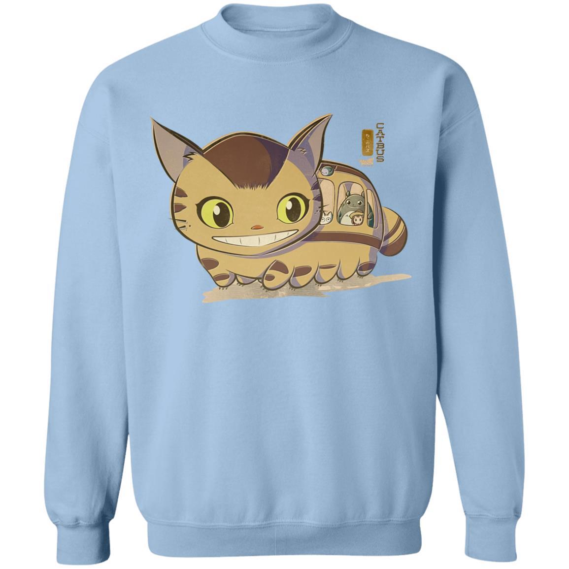 My Neighbor Totoro Catbus Chibi Sweatshirt