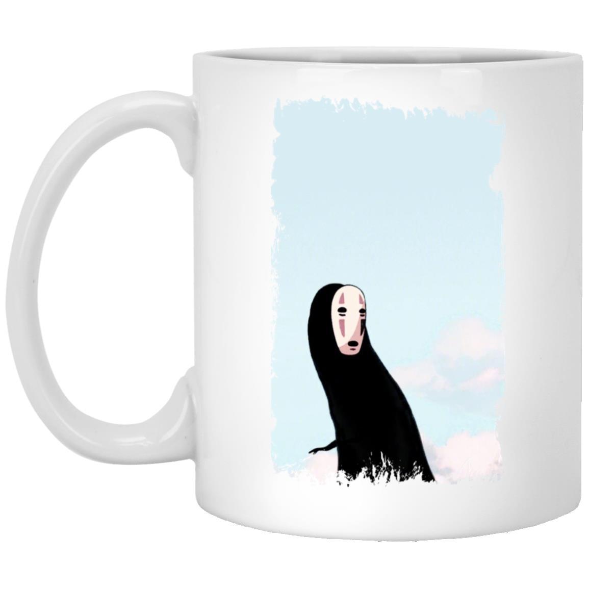 Spirited Away Kaonashi Noface Look Back Mug