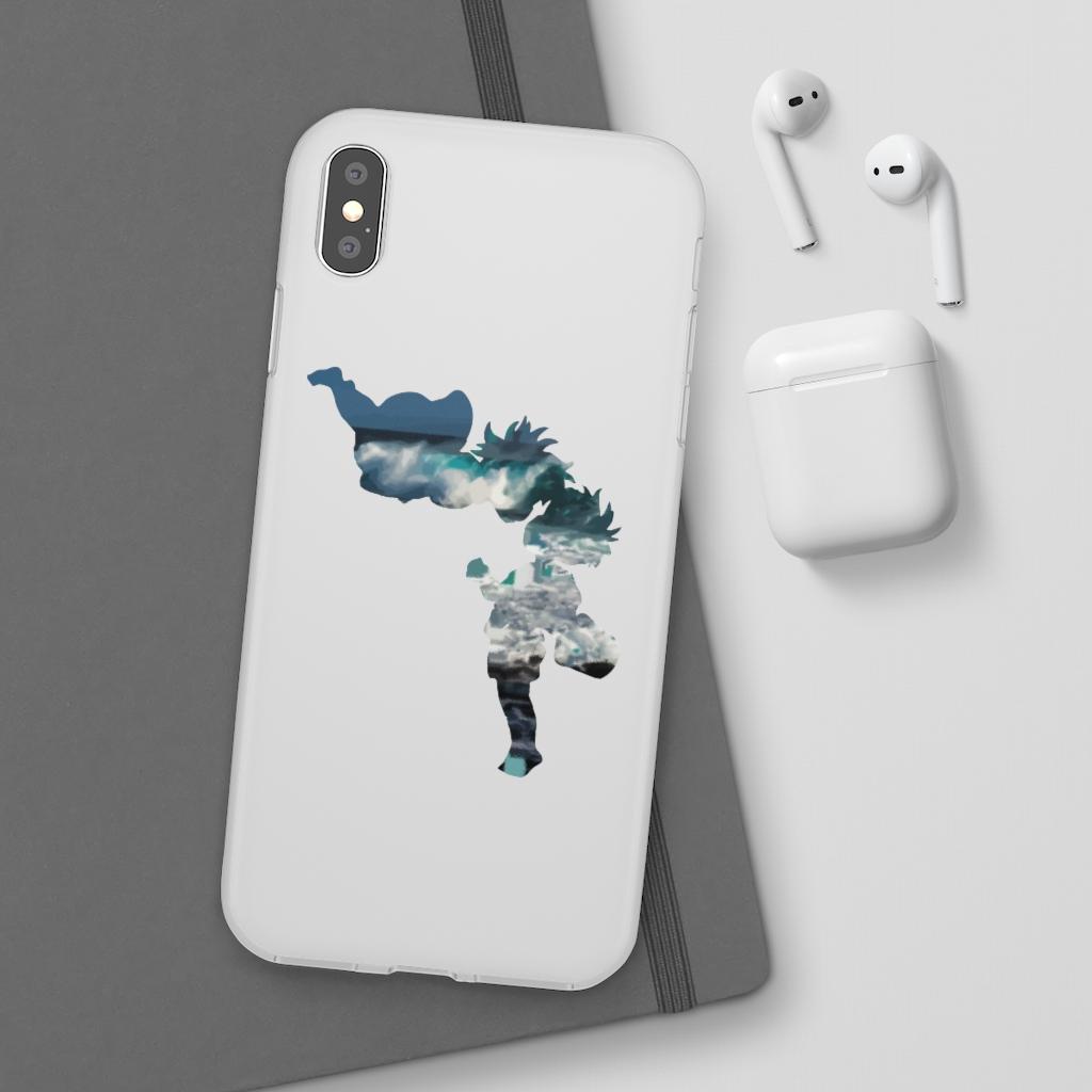 Ponyo and Sasuke Cutout Classic iPhone Cases