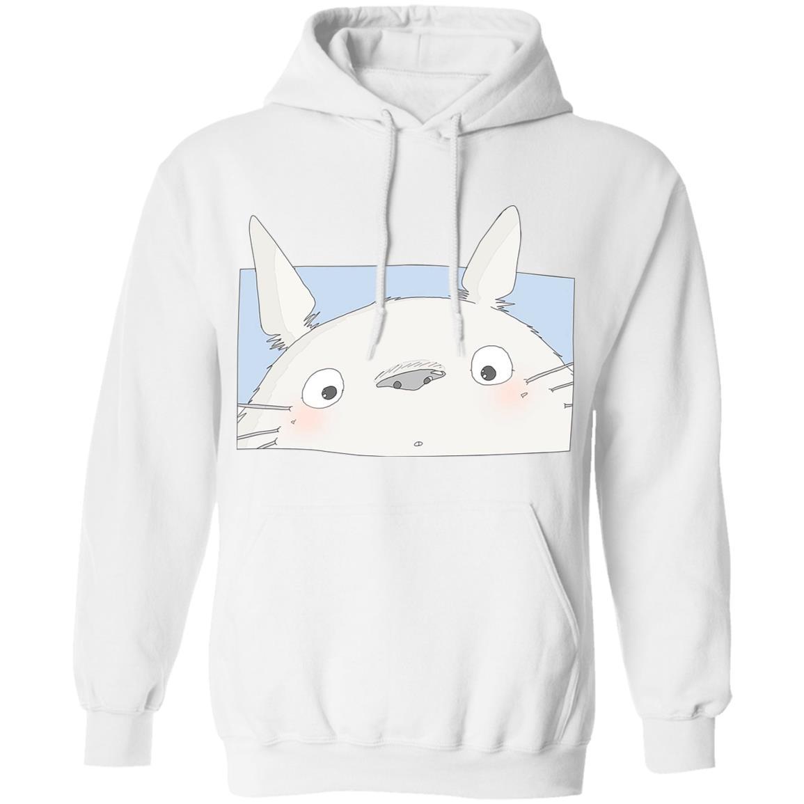 Totoro Cute Face Hoodie