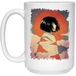 Haku Japanese Classic Art Mug 15Oz