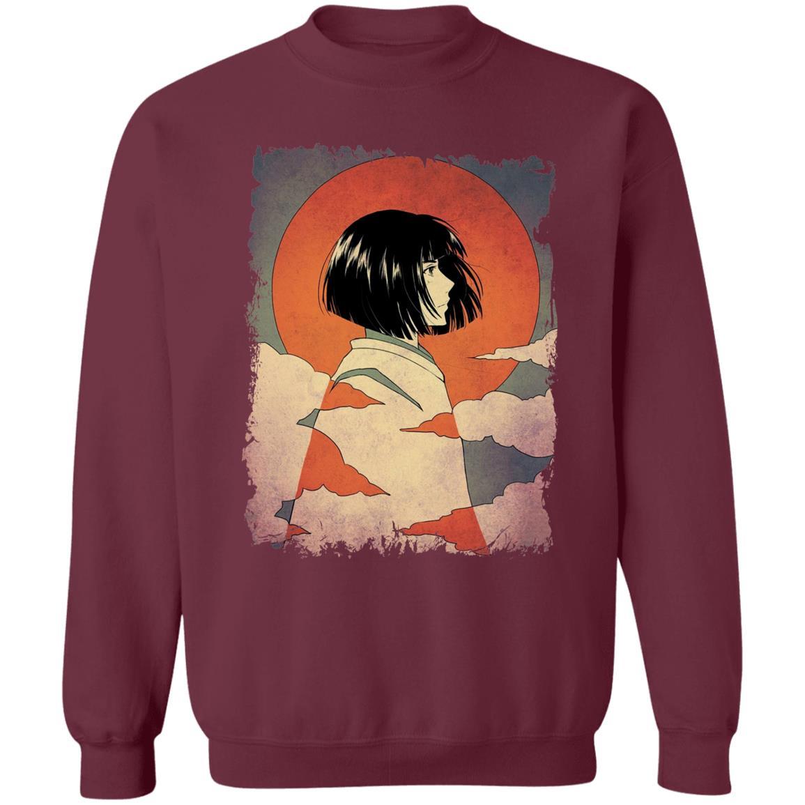 Haku Japanese Classic Art Sweatshirt