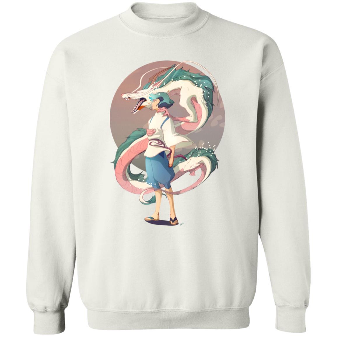 Haku and The Dragon Sweatshirt