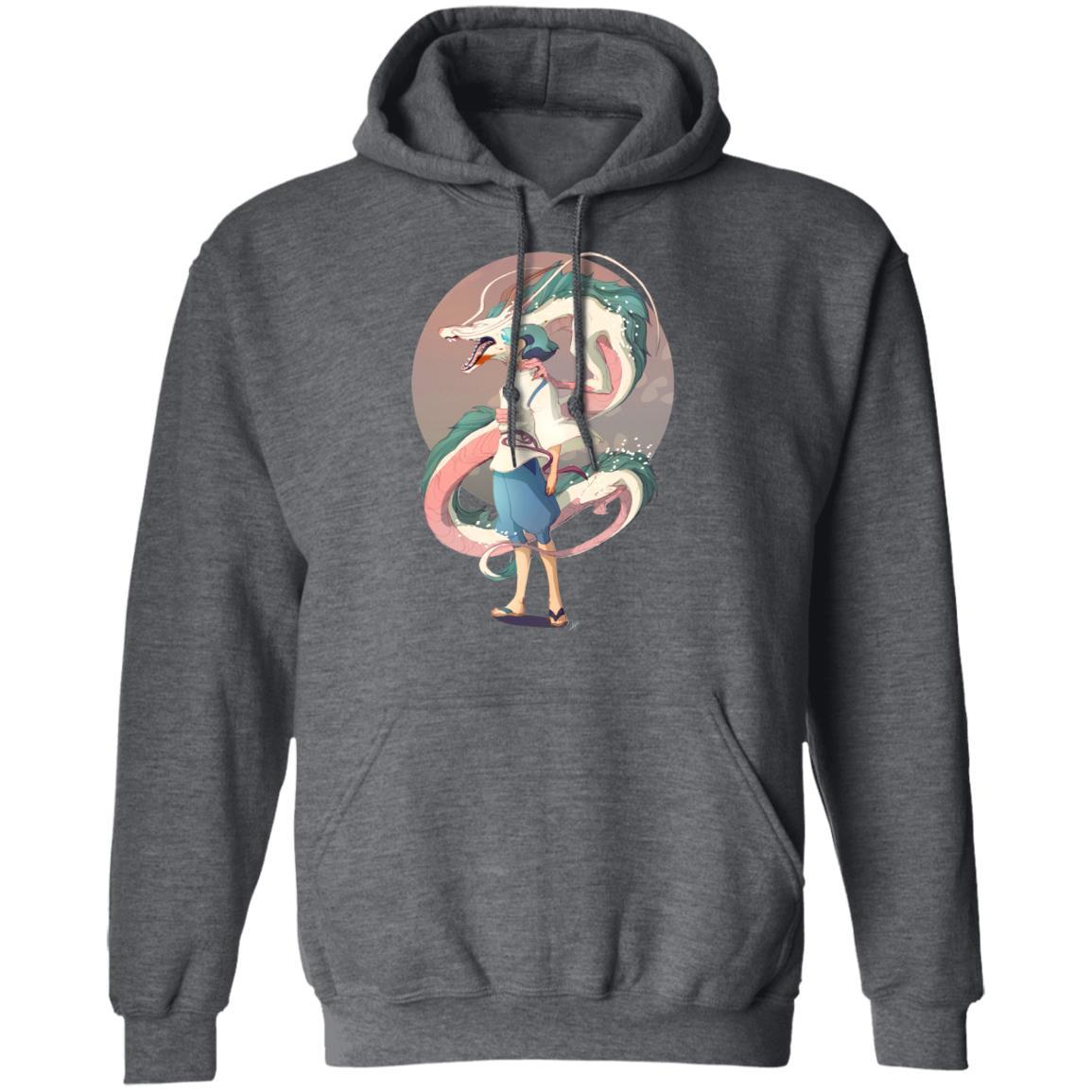 Haku and The Dragon Hoodie