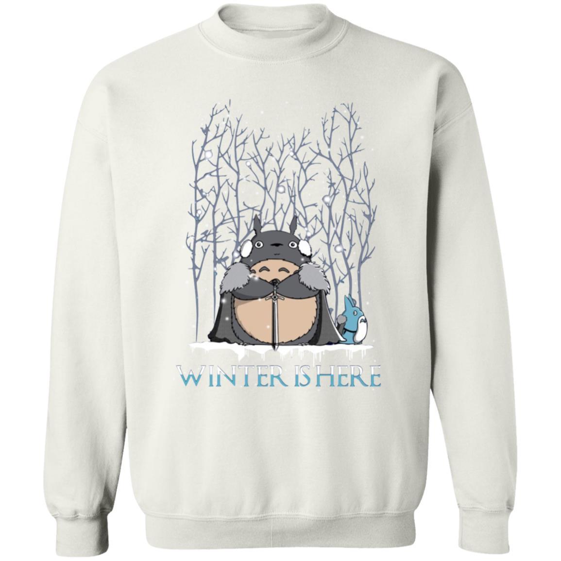 Totoro Game of Throne Winter is Here Sweatshirt