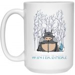 Totoro Game of Throne Winter is Here Mug 15Oz