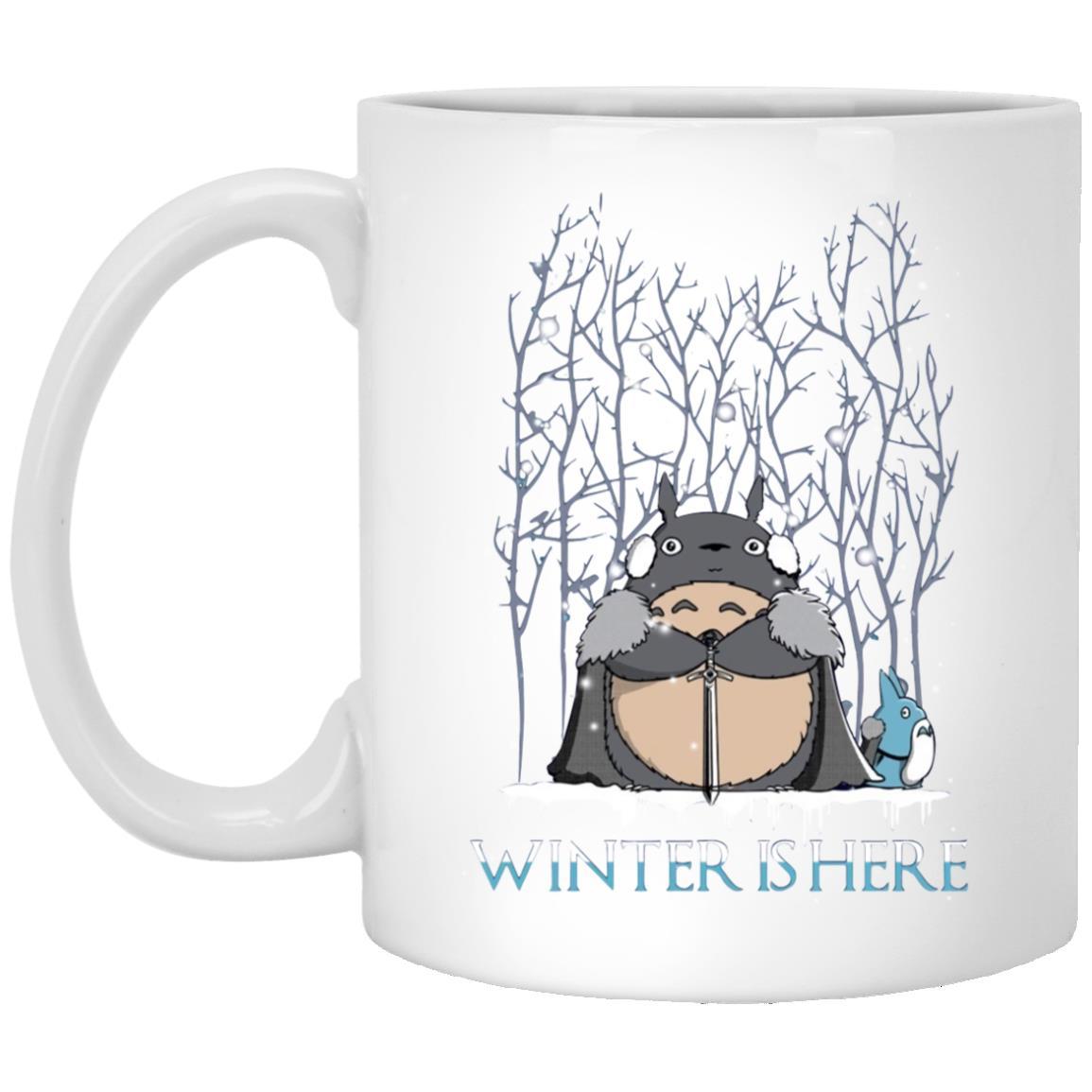 Totoro Game of Throne Winter is Here Mug