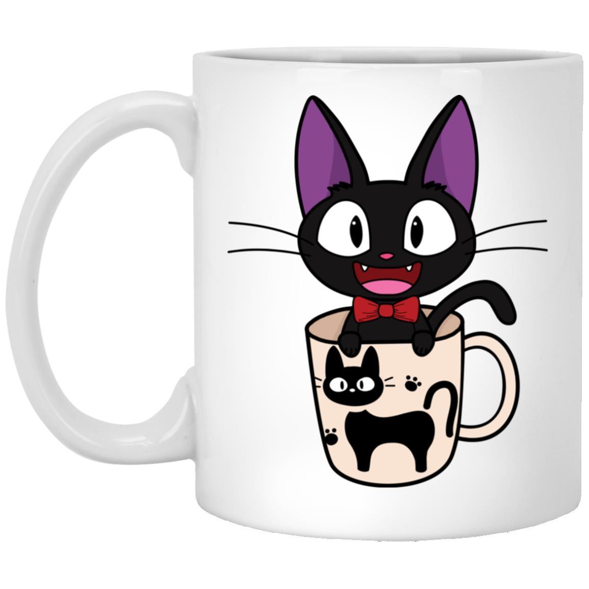 Jiji in the Cat Cup Mug