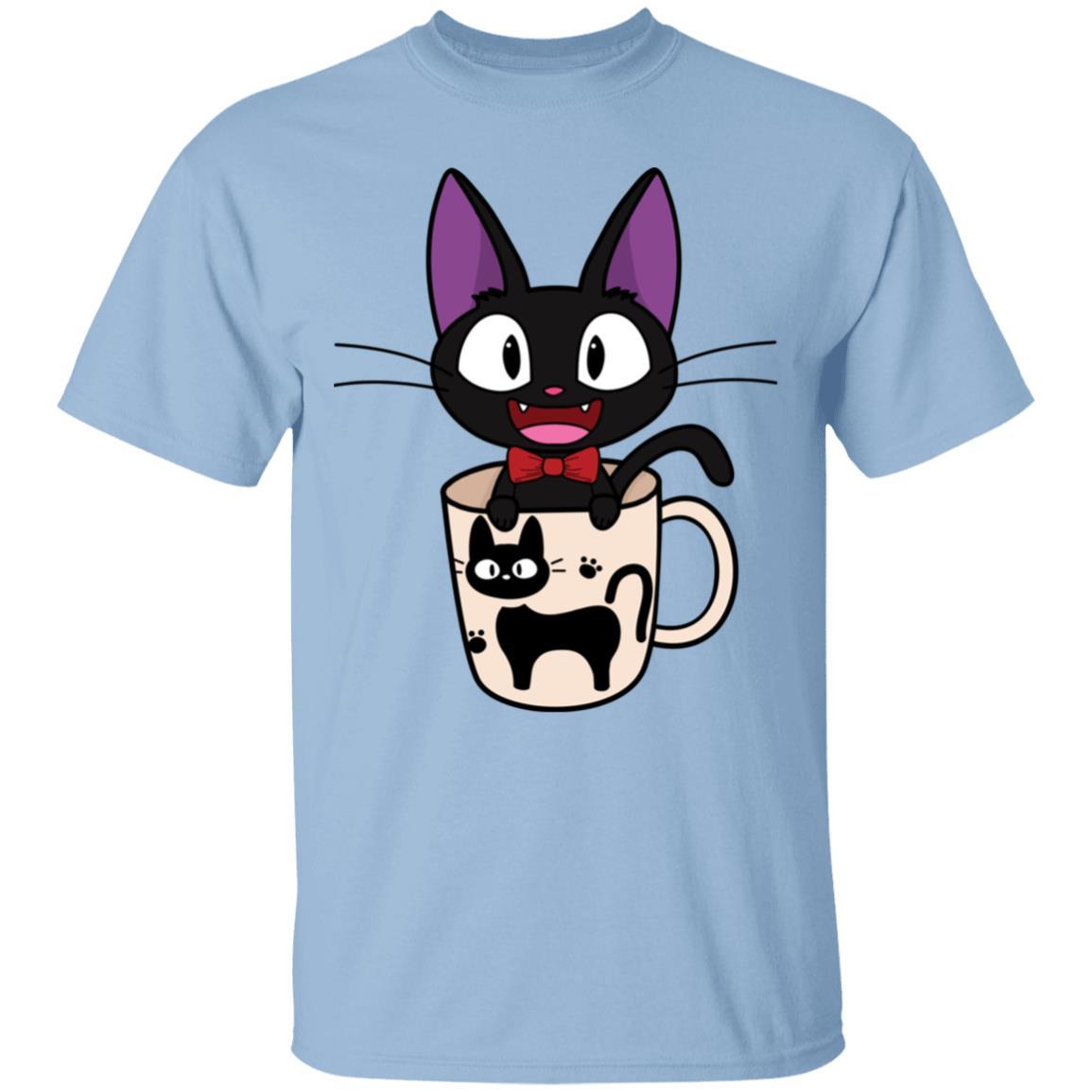 Jiji in the Cat Cup T Shirt