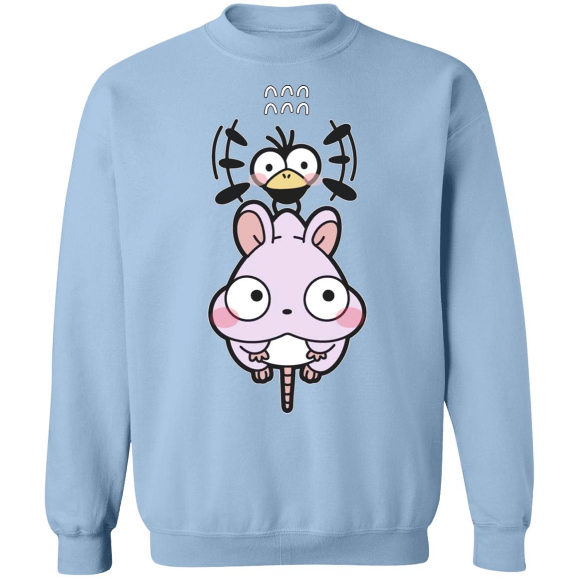 Spirited Aways – Boh Mouse Chibi Sweatshirt