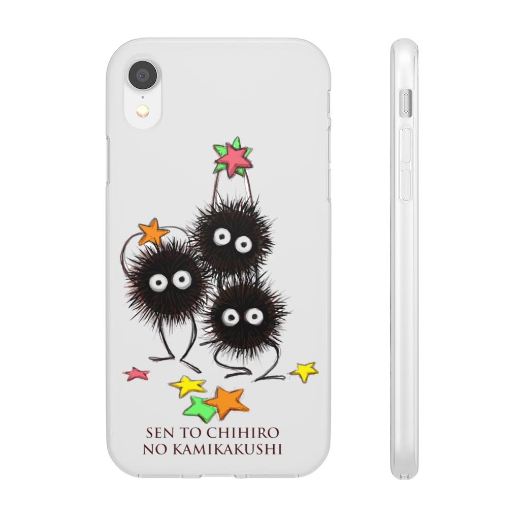 Spirited Away Susuwatari Graphic iPhone Cases