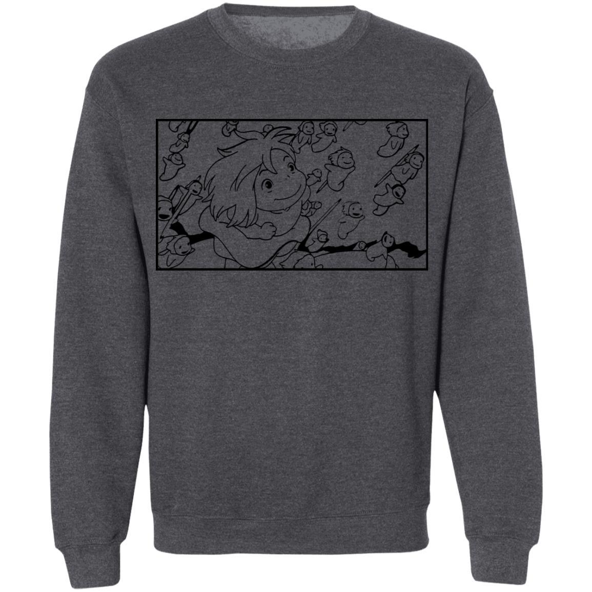 Ponyo – Freedom Sketch Sweatshirt