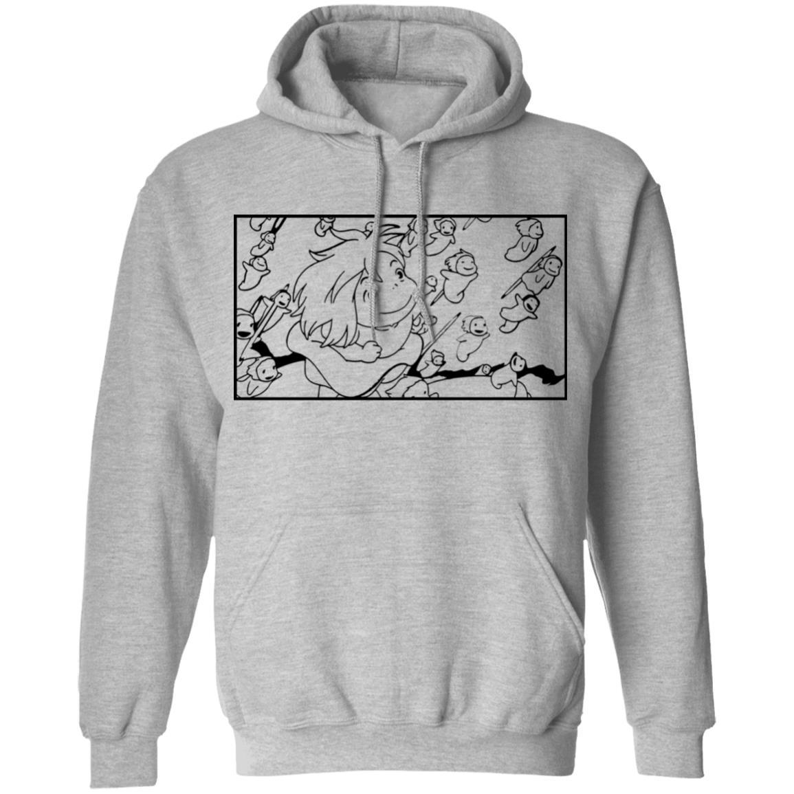 Ponyo – Freedom Sketch Hoodie