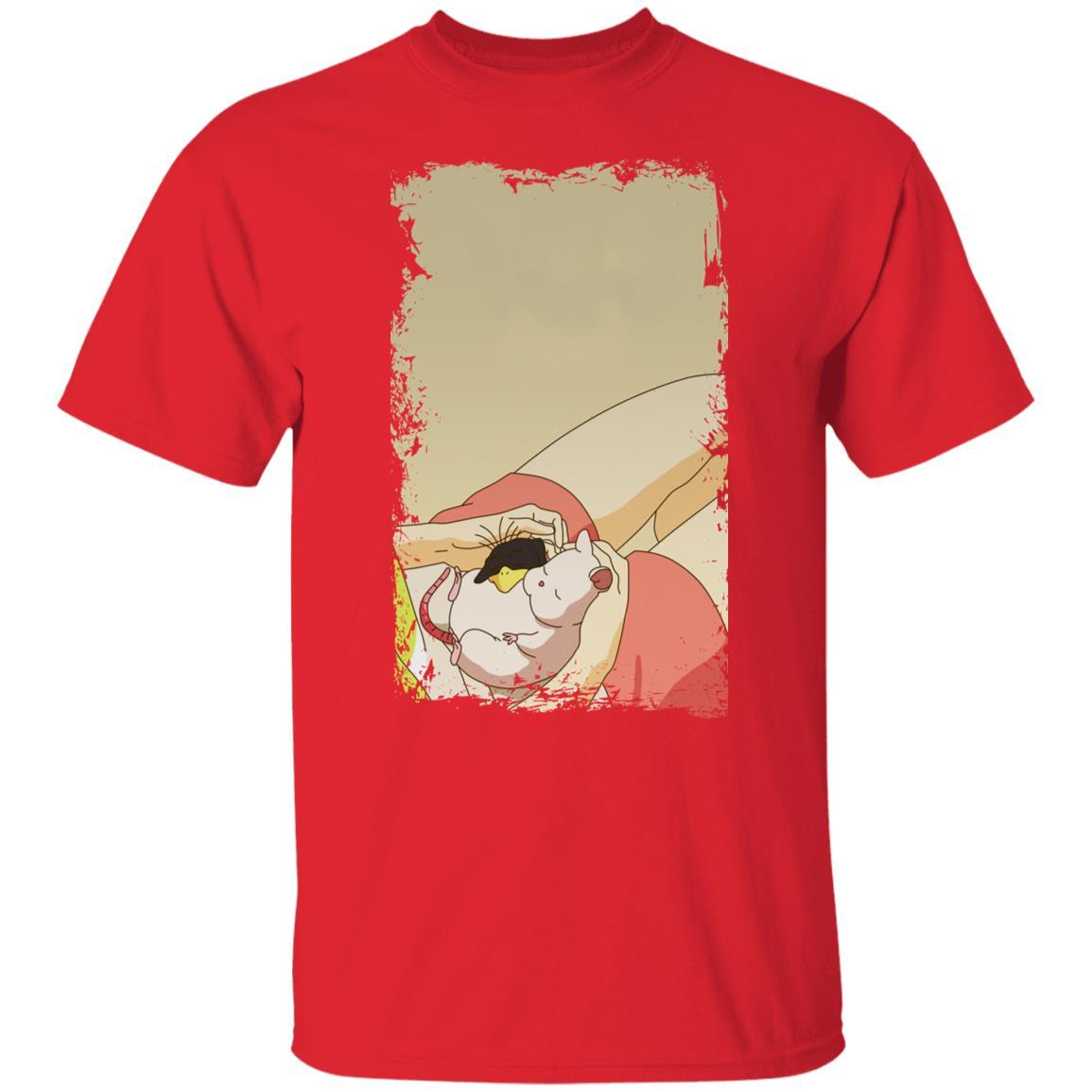 Spirited Away – Sleeping Boh Mouse T Shirt
