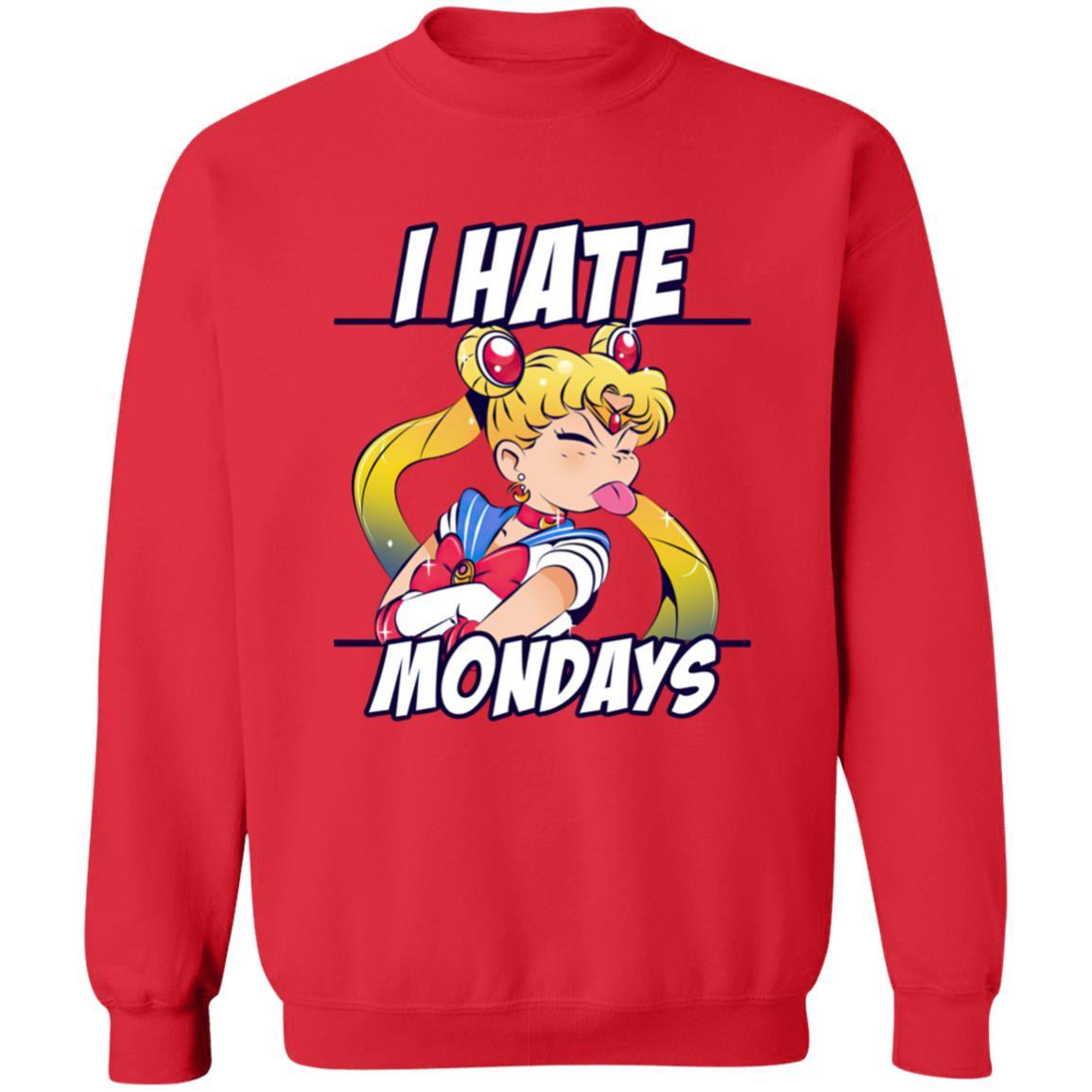 Sailormoon – I Hate Mondays Sweatshirt