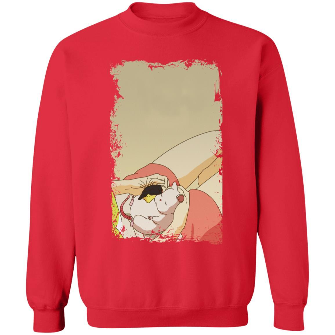 Spirited Away – Sleeping Boh Mouse Sweatshirt