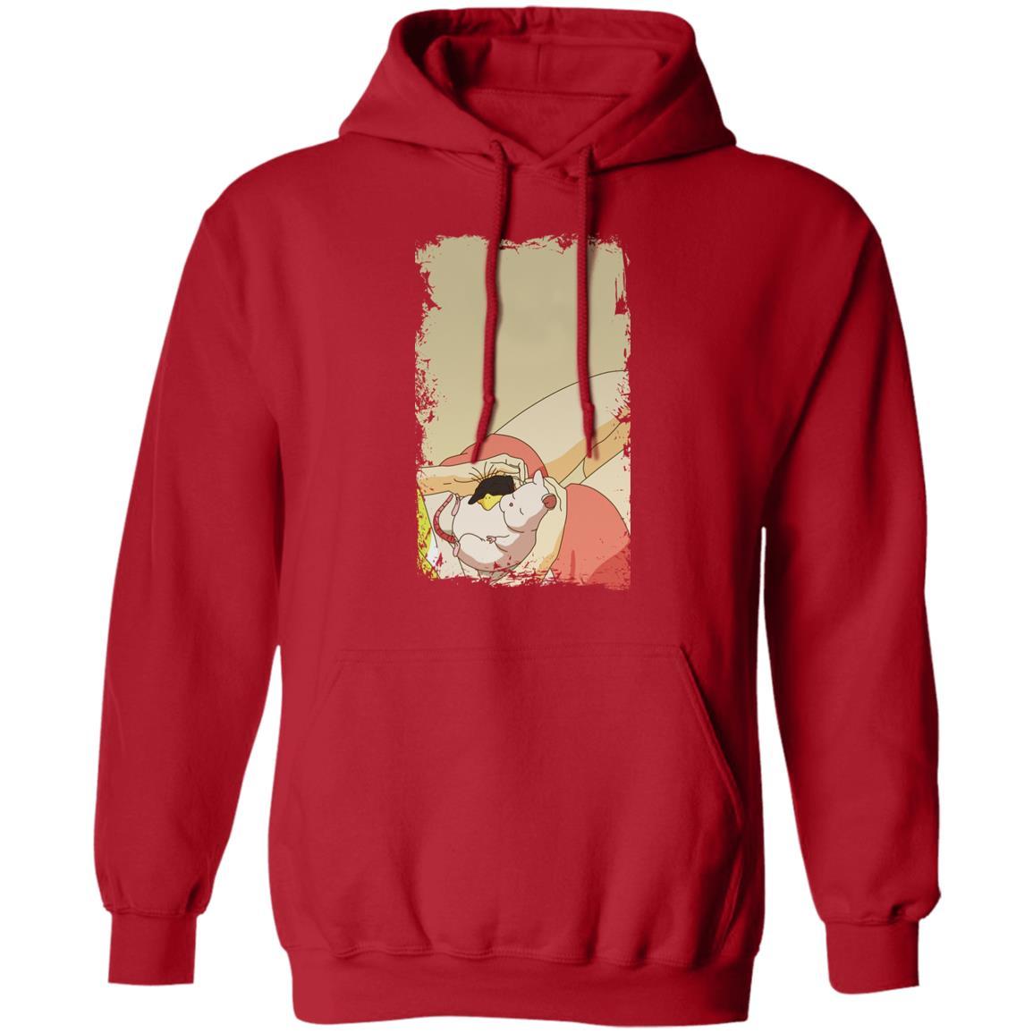 Spirited Away – Sleeping Boh Mouse Hoodie