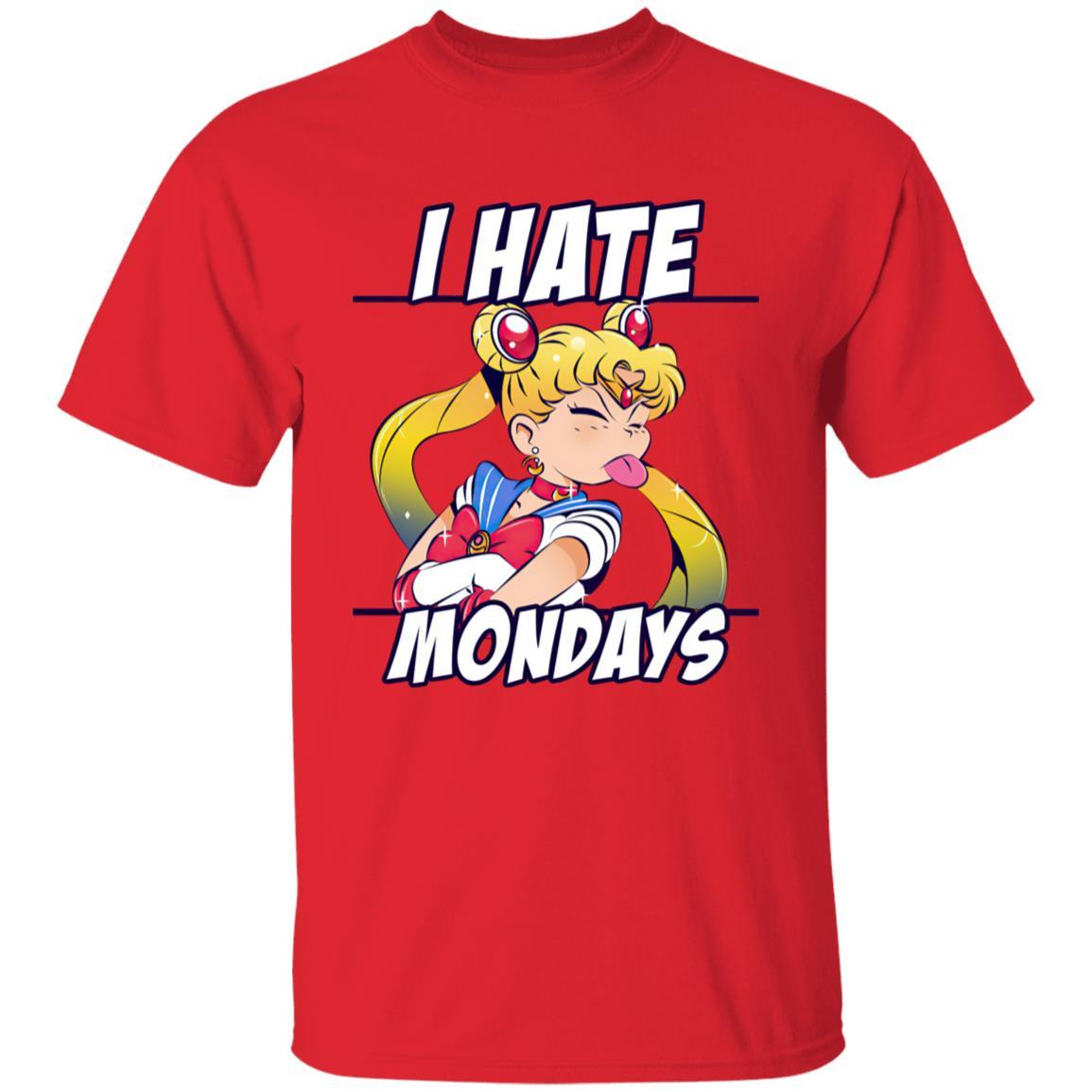 Sailormoon – I Hate Mondays T Shirt