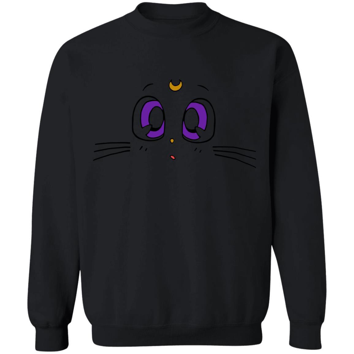 Sailormoon – Luna's Face Sweatshirt