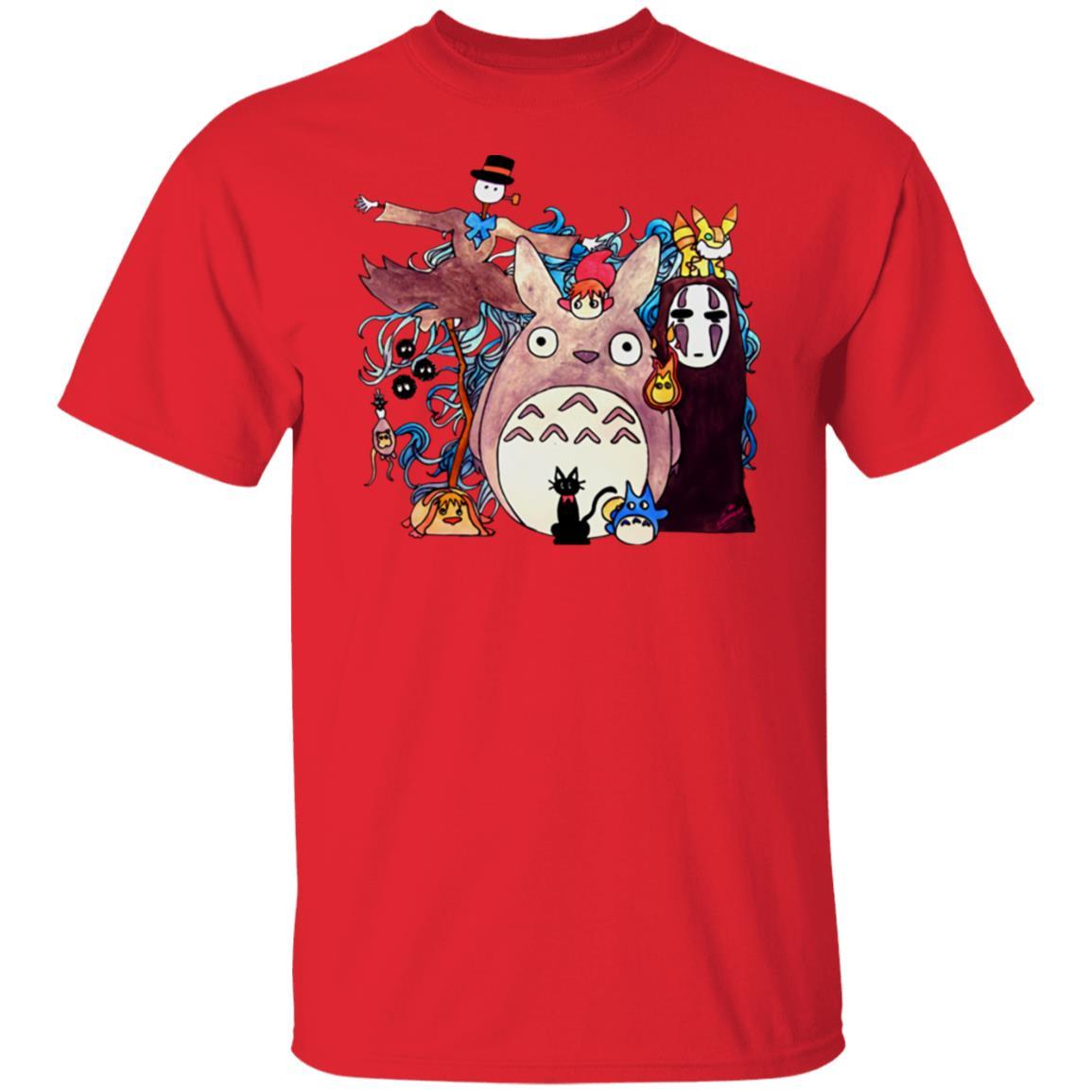 Studio Ghibli Characters Kid T Shirt