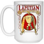 Laputa: Castle in the Sky Robot Mug 15Oz