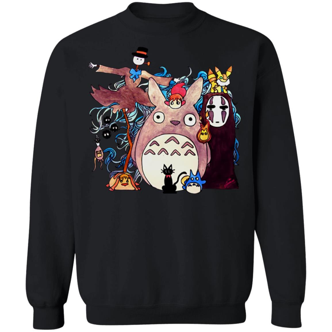 Studio Ghibli Characters Kid Sweatshirt