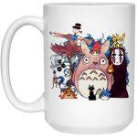 Studio Ghibli Characters Kid Mug 15Oz