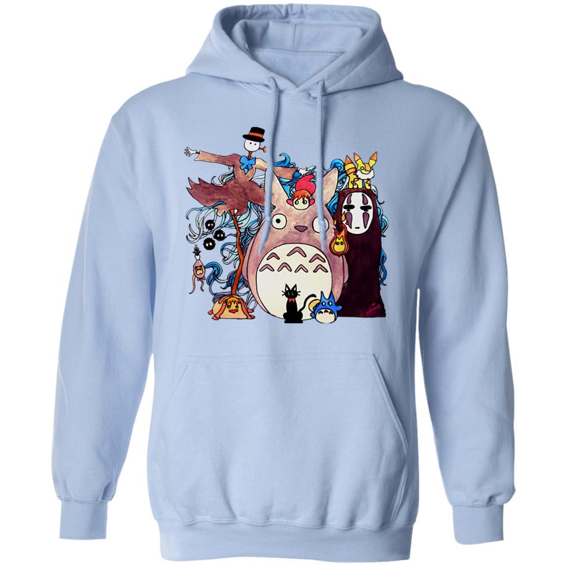 Studio Ghibli Characters Kid Hoodie