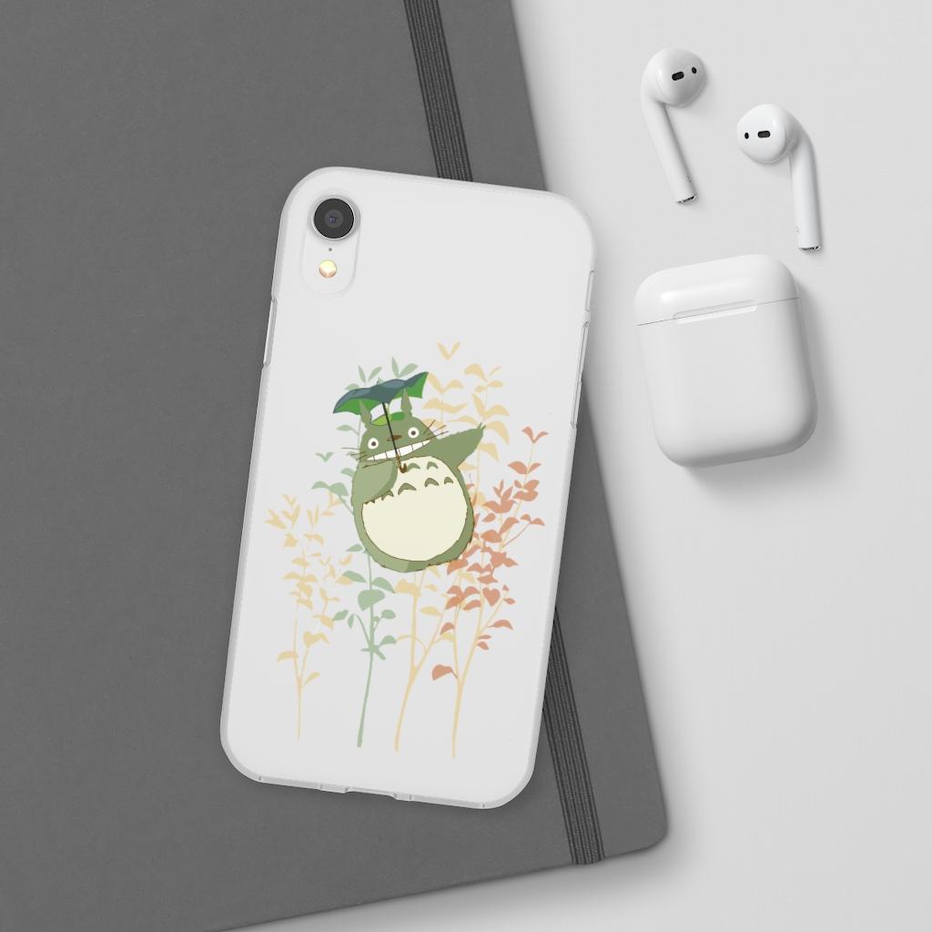 My Neighbor Totoro – Totoro and Umbrella iPhone Cases