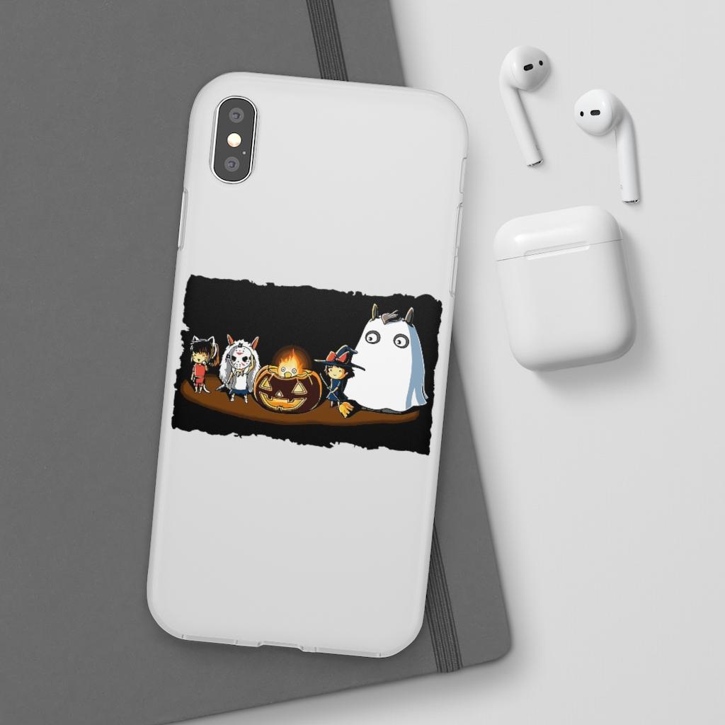 Ghibli Studio – Halloween Funny Party iPhone Cases