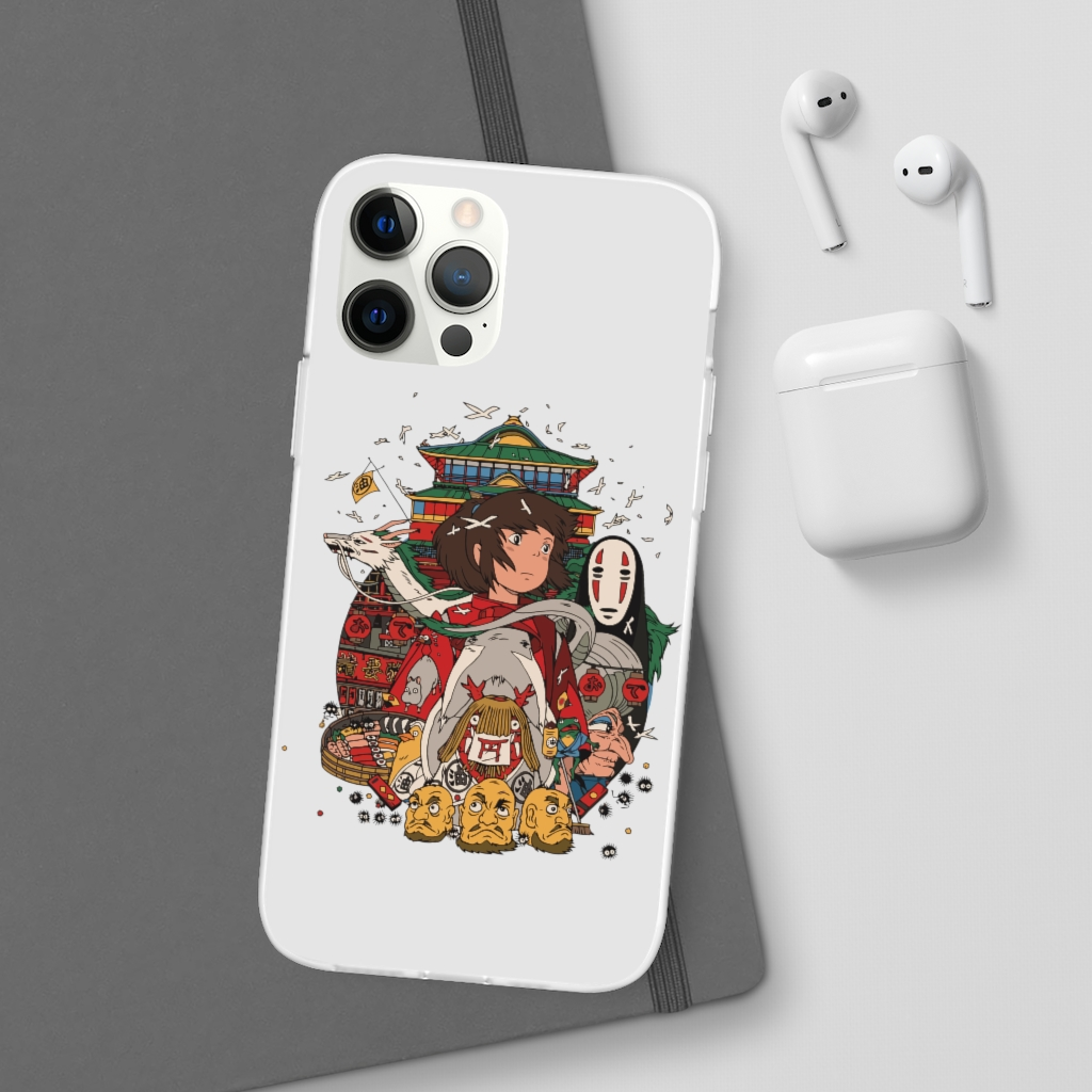 Spirited Away – Sen and Friends iPhone Cases