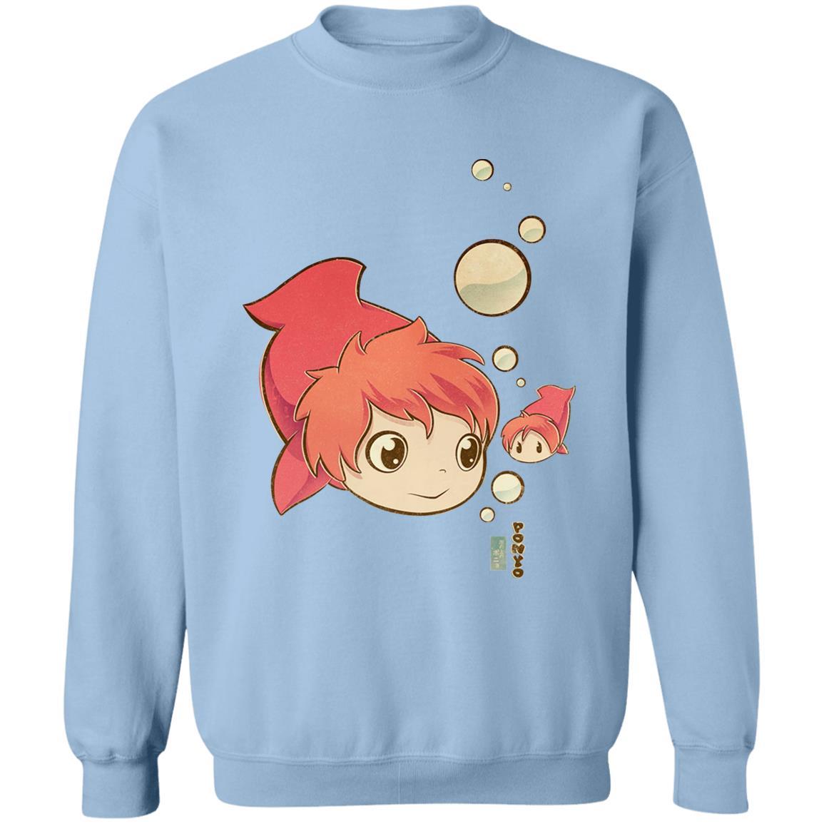 Ponyo Chibi Sweatshirt