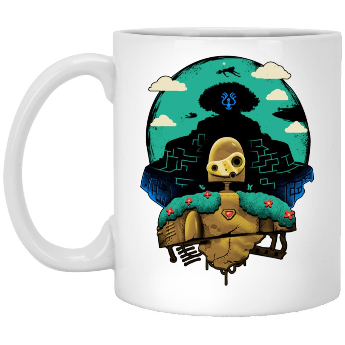 Laputa: Castle in The Sky and Warrior Robot Mug