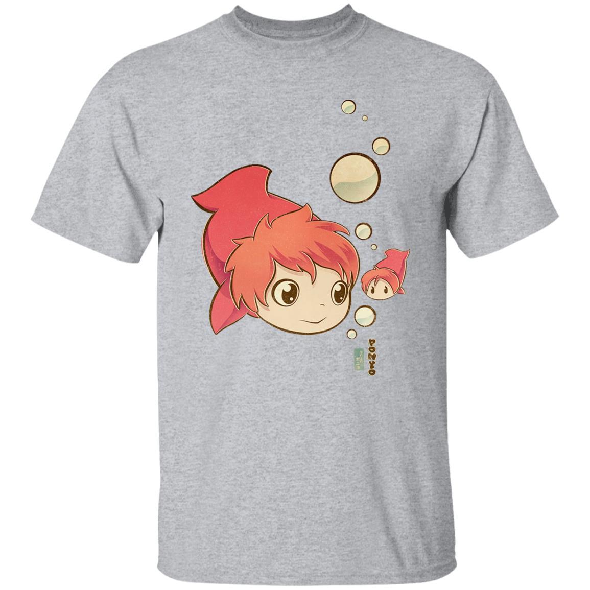 Ponyo Chibi T Shirt