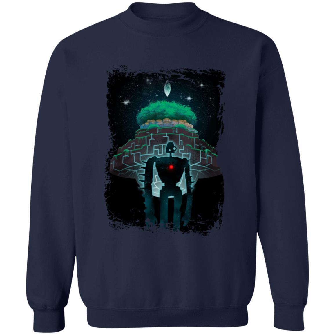 Laputa: Castle in The Sky Nigh Time Sweatshirt