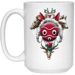Princess Mononoke - The Forest Protectors Mug 15Oz