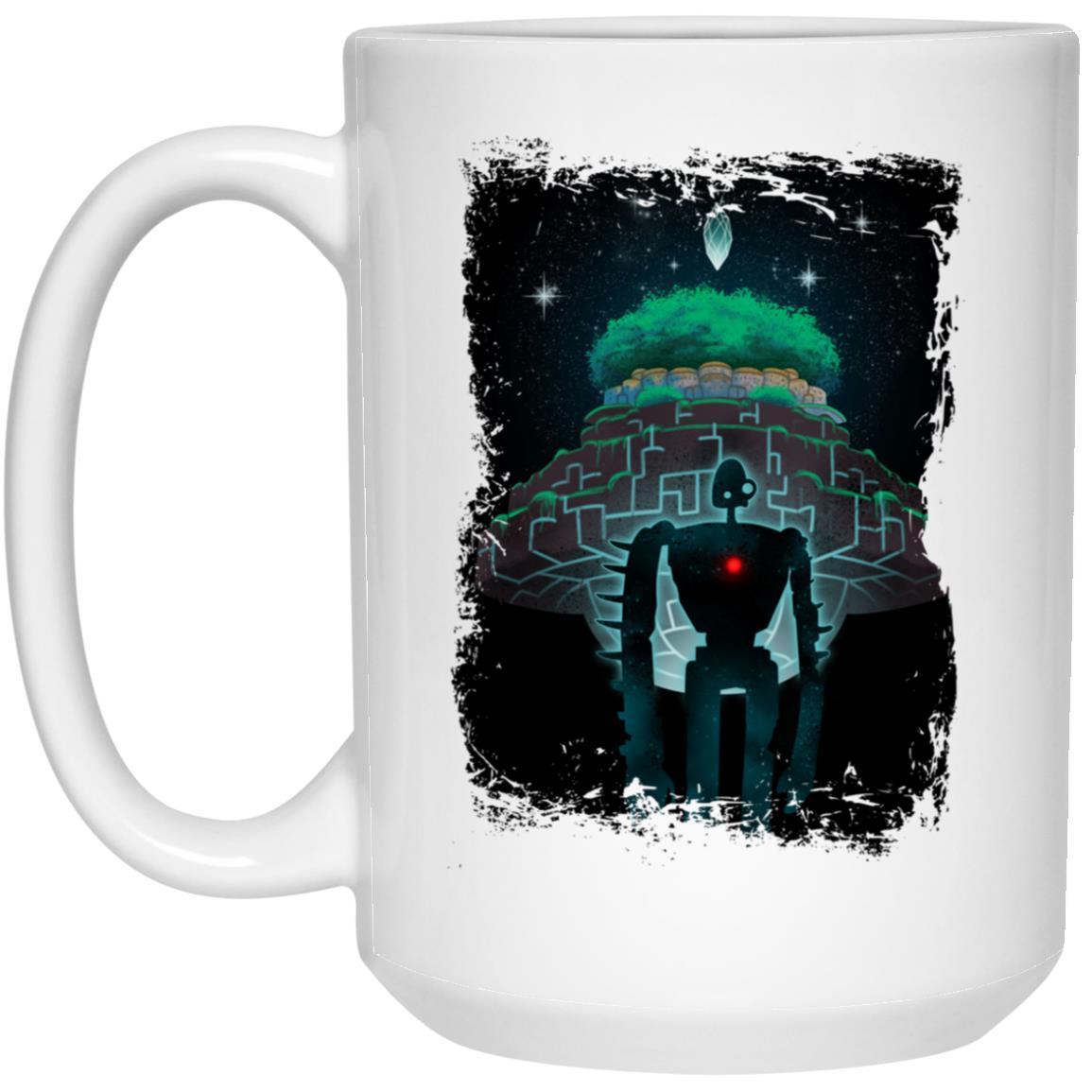 Laputa: Castle in The Sky Nigh Time Mug