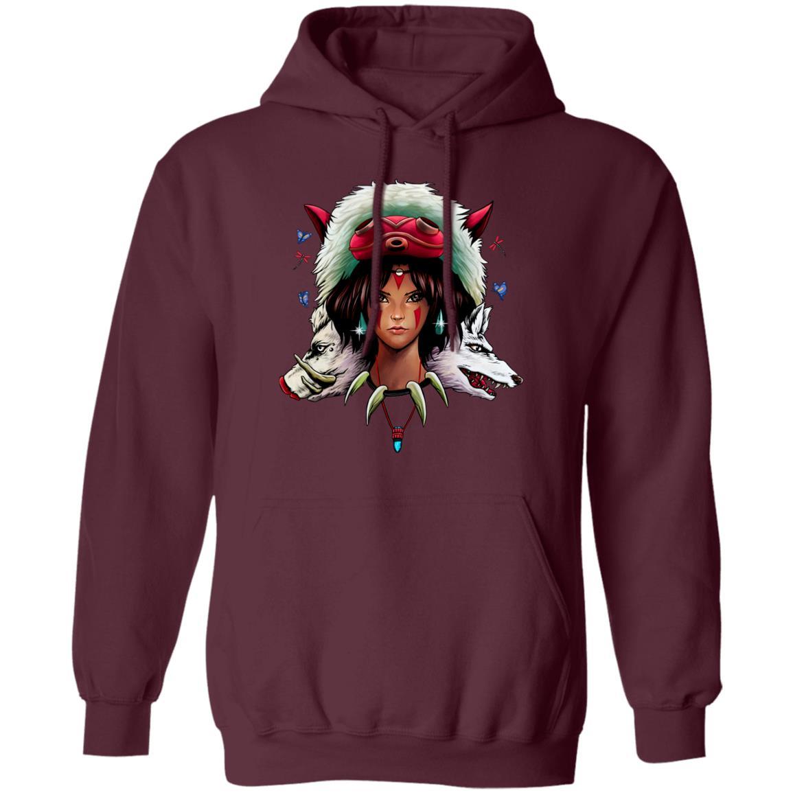 Mononoke: The Wolf Princess Hoodie