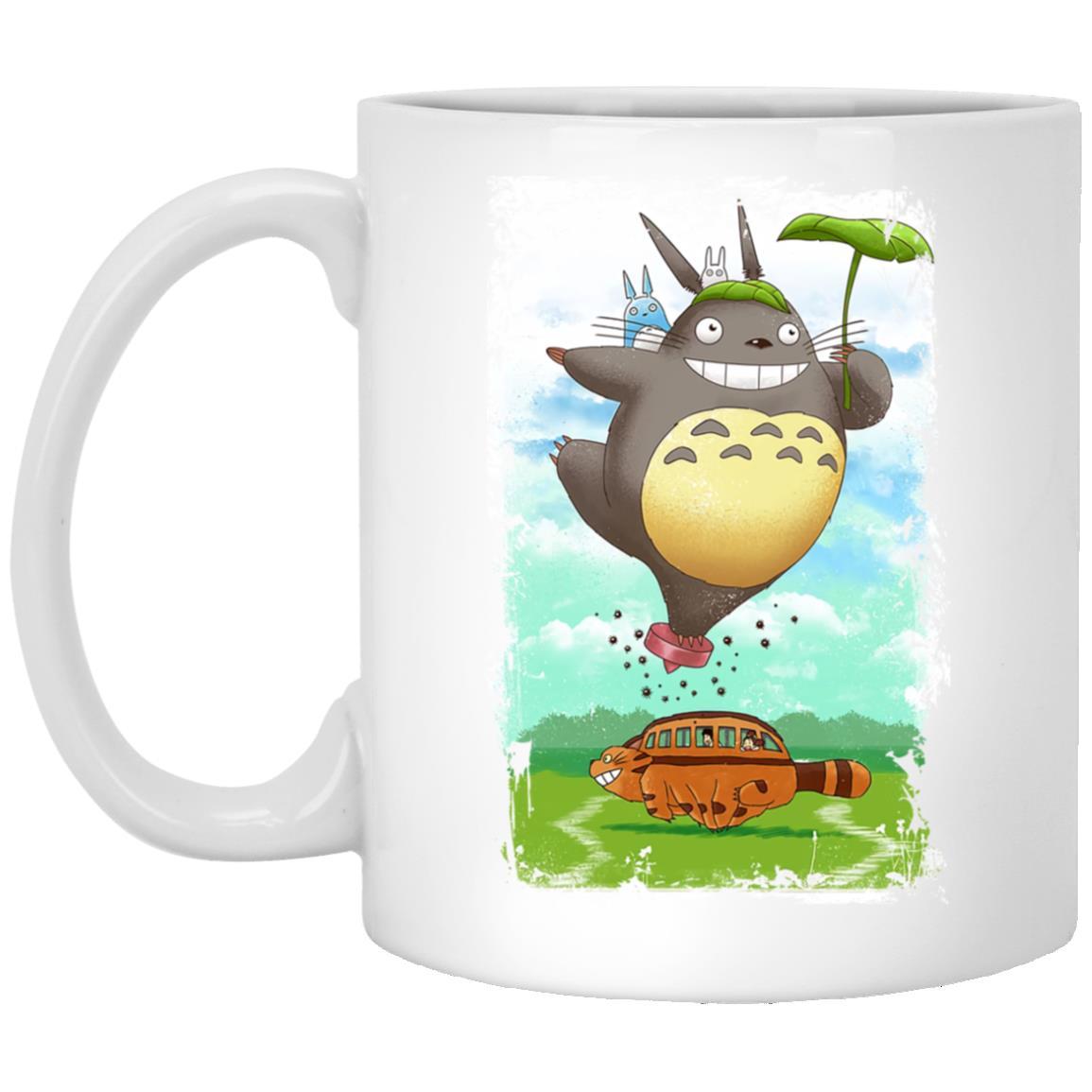 Totoro the Funny Neighbor Mug