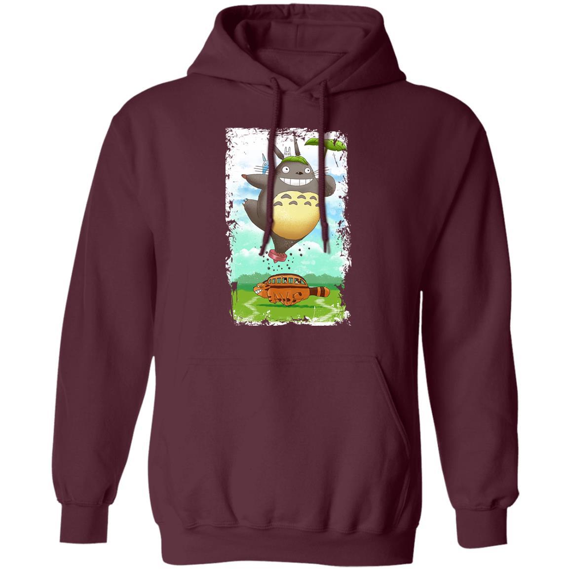 Totoro the Funny Neighbor Hoodie