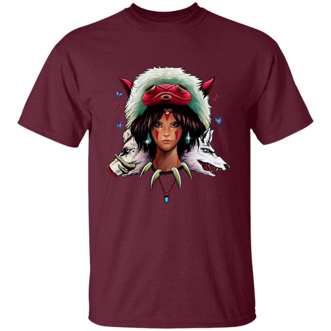 Mononoke: The Wolf Princess T Shirt