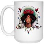 Mononoke: The Wolf Princess Mug 15Oz