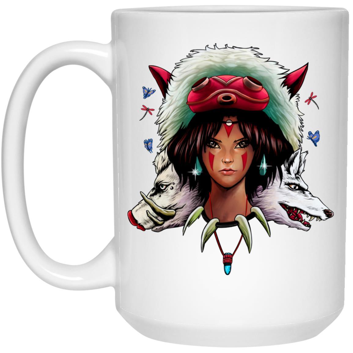 Mononoke: The Wolf Princess Mug