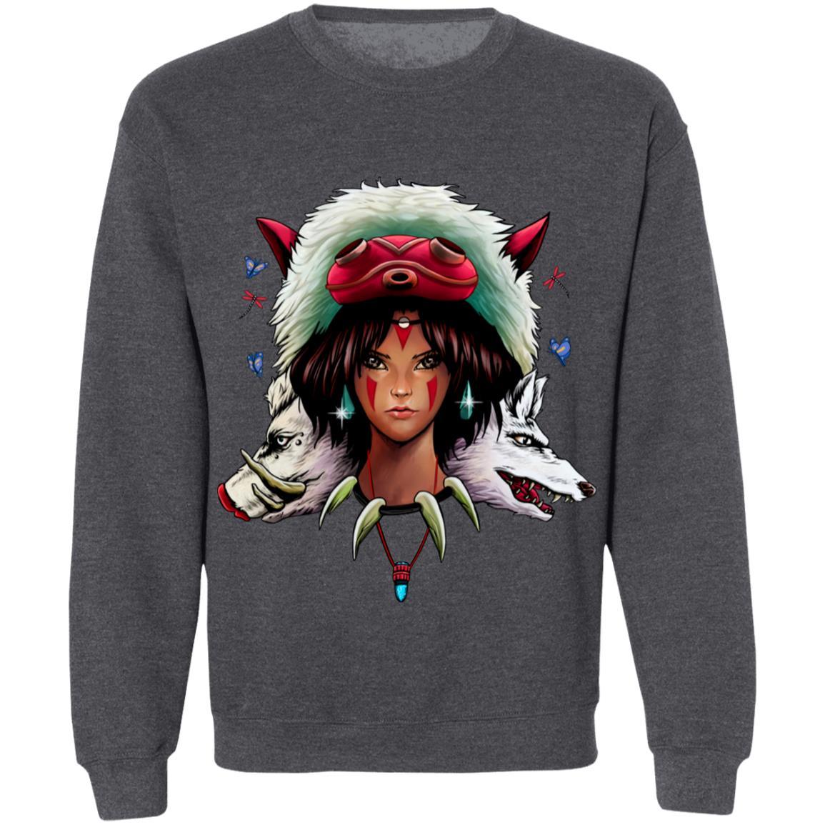 Mononoke: The Wolf Princess Sweatshirt