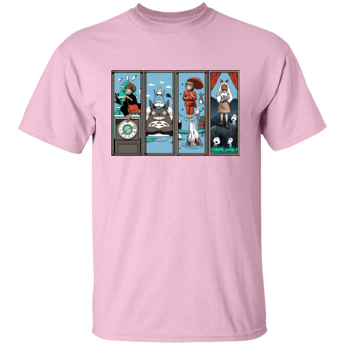 Ghibli Most Famous Movies Collection T Shirt