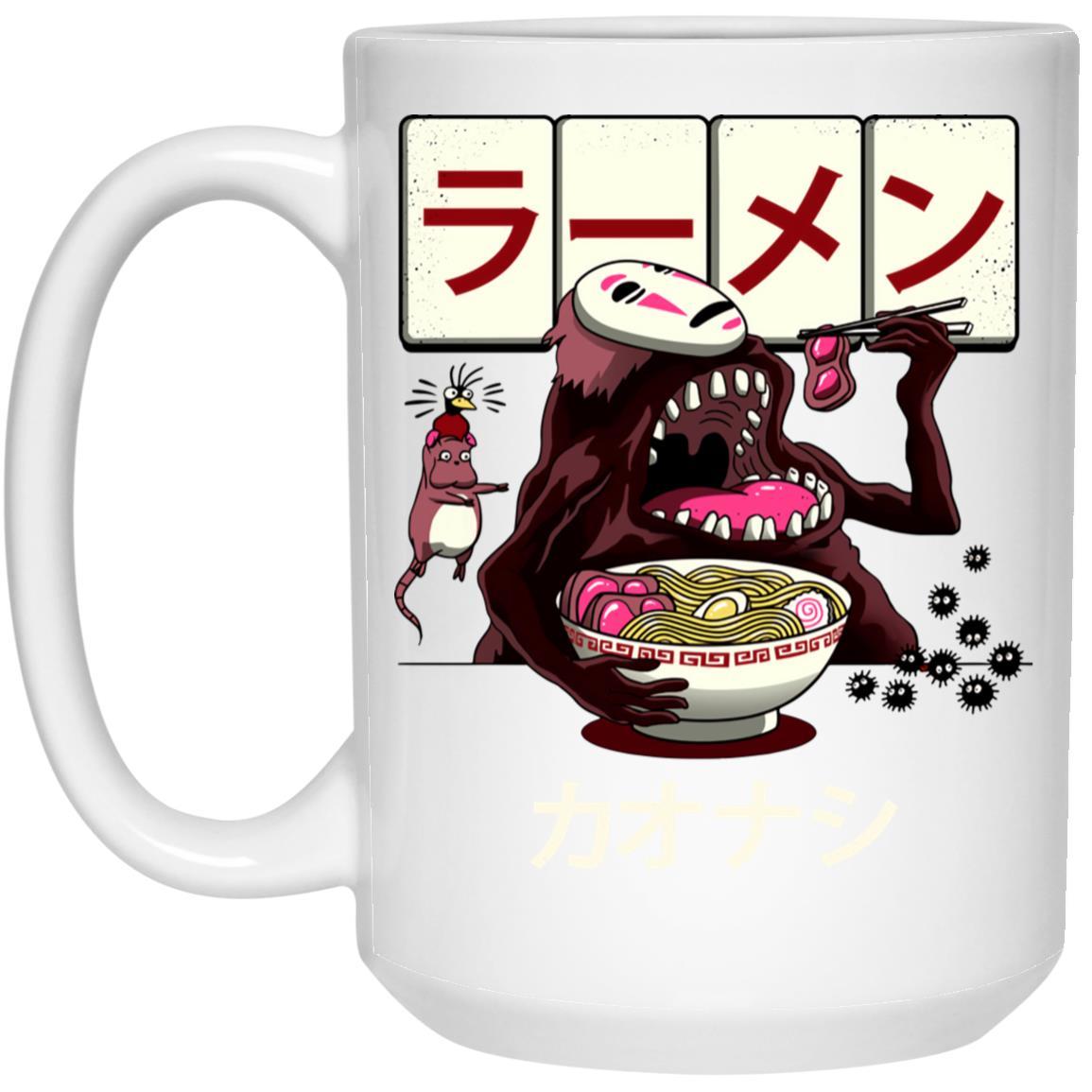 Spirited Away Kaonashi Ramen Mug