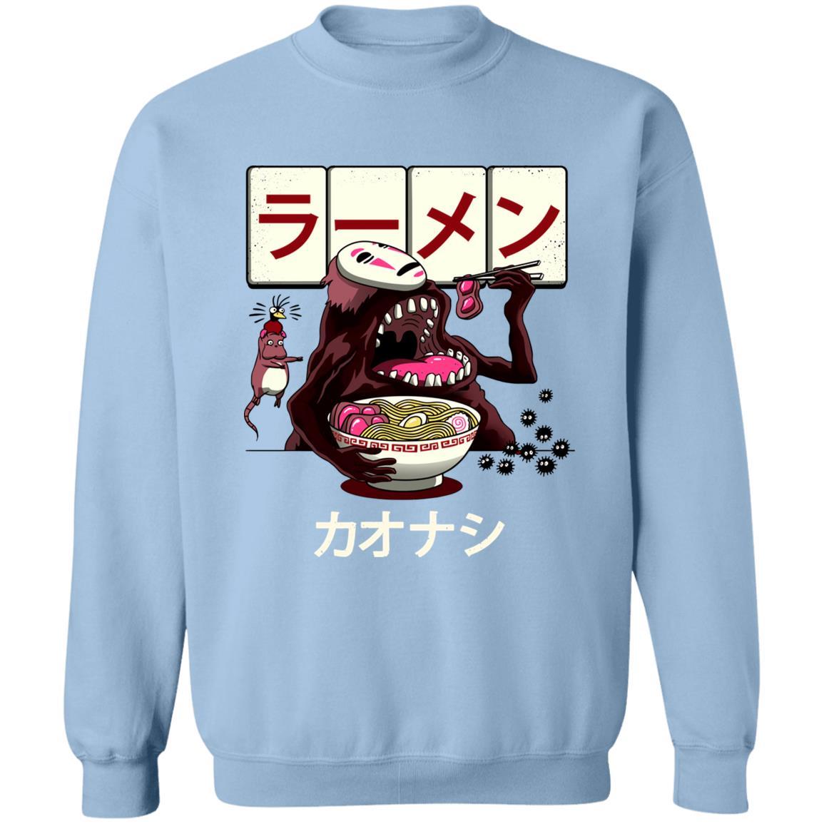 Spirited Away Kaonashi Ramen Sweatshirt