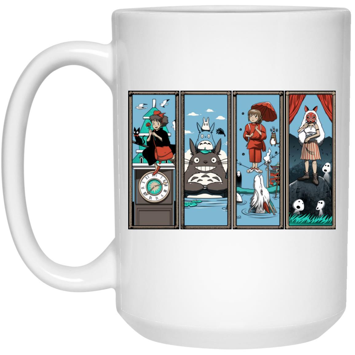 Ghibli Most Famous Movies Collection Mug