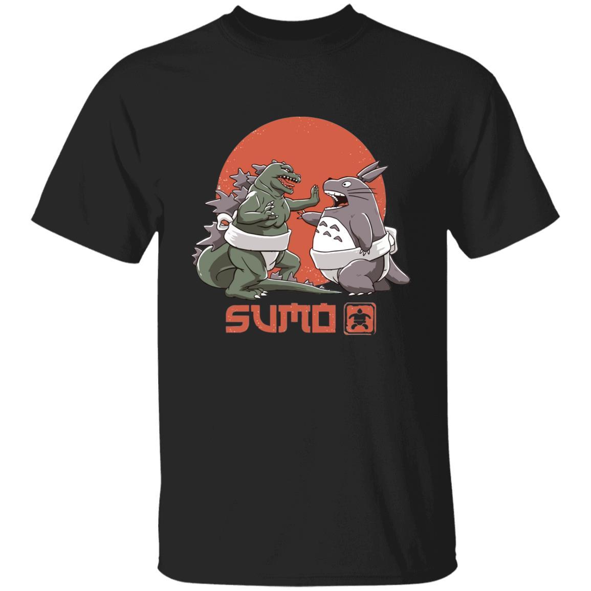 Totoro vs. Godzilla Sumo T Shirt