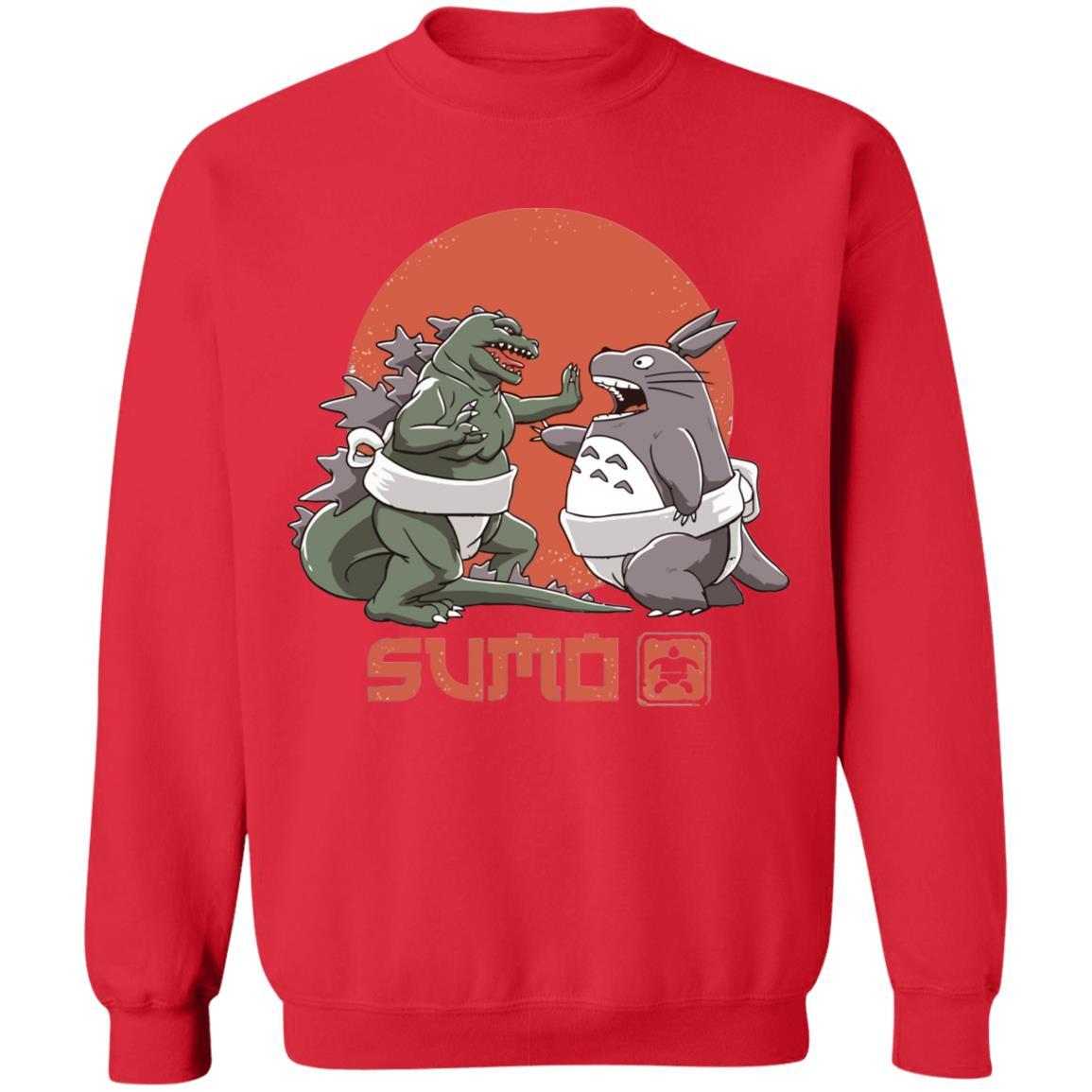 Totoro vs. Godzilla Sumo Sweatshirt